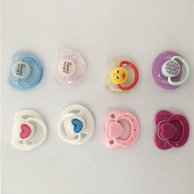 Baby Doll Accessories Reborn Doll Supplies Dummy Magnetic Pacifier+Magnet For Reborn Bab ...