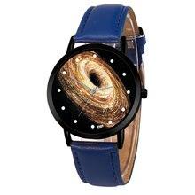 Unique Solar System Watch Space Planets Astronomy Unisex Classy Casual Quartz Leather Strap Analog Watches Montre Femme