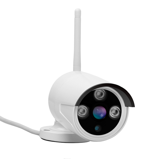 Aokwe New arrival 4ch Outdoor Day night security camera system 1080 Real WiFi wireless NVR kit with 12.5 inch LCD Screen