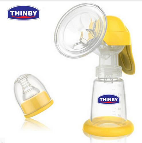 Eco-bomba de succión con la Botella de Leche Materna extractor de leche Manual de suministros máquina de ordeño sacaleches posparto con Nipple envío