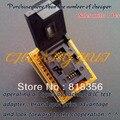 ТЕСТ IC QFN8 к DIP8 Программист Адаптер WSON8 DFN8 MLF8 в DIP8 разъем для 25xxx 6x8 мм Шаг = 1.27 мм