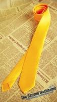 Бесплатная доставка Новый VOCALOID Kagamine Rin/ren Аниме Косплей Яркий желтый Галстуки