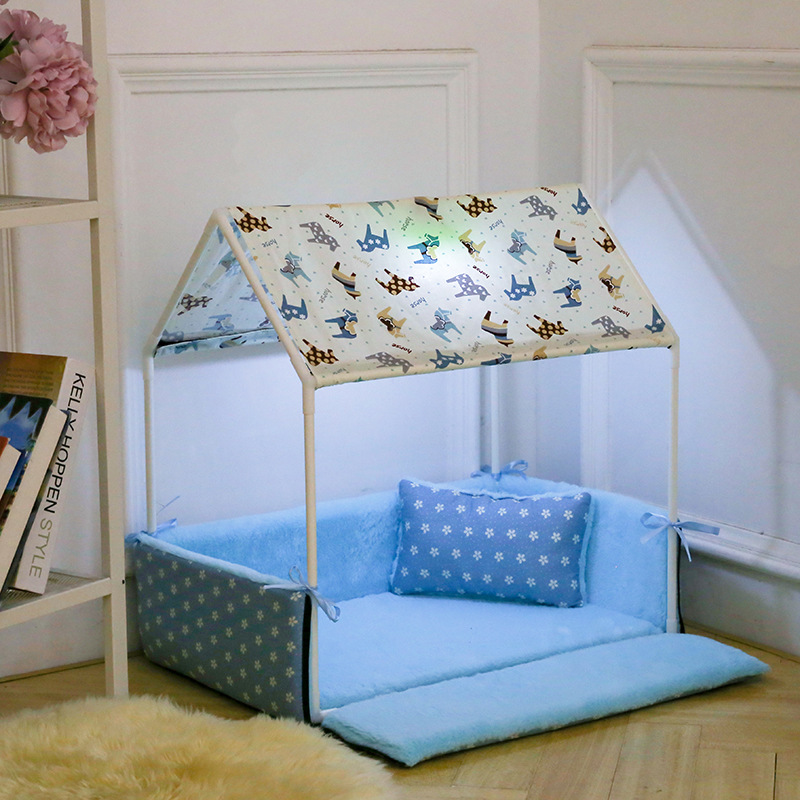 French Bulldog Dog Tent Nest Cat Wash Pet Tent House Pet Yorkshire Terrier Supplies Big Dog Bed Dog Bed