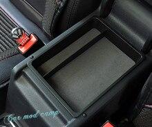 Для Фольксваген Tiguan 2009-2015 Пластик подкладке подлокотник ящик для хранения Организатор Дело контейнер лоток 1 шт. автомобиля стиль