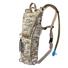 E0238 Water Bag Backpack Portable Oxford Camouflage Water Bottles for Outdoor Riding Sports Camping&Hiking