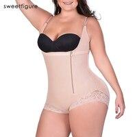 בתוספת גודל 4 5 6XL נשים Shapewear מעצב הרזיה מותניים תחתוני נשים ומעצב גוף מחוך מרים התחת רצועת דוגמנות Bodysuits