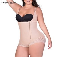 Plus Size 4 5 6XL Women Shapewear Waist Slimming Shaper Corset Butt Lifter Modeling Strap Body
