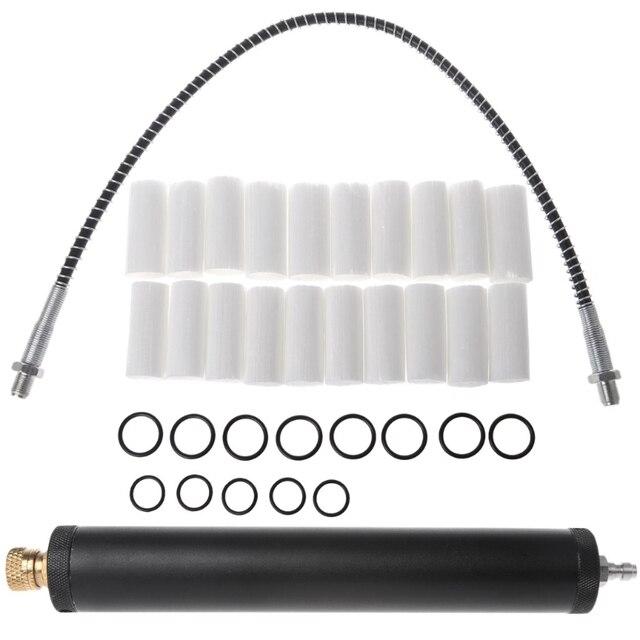 Hoge Druk Pcp Luchtfilter Compressor Olie Water Separator Hoge Druk 40Mpa 300bar Pomp 19QB