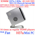 2015 New product cheap gaming computer mini pc 12v with Intel Celeron 1037u Dual Core 1.8Ghz 4G RAM 64G SSD