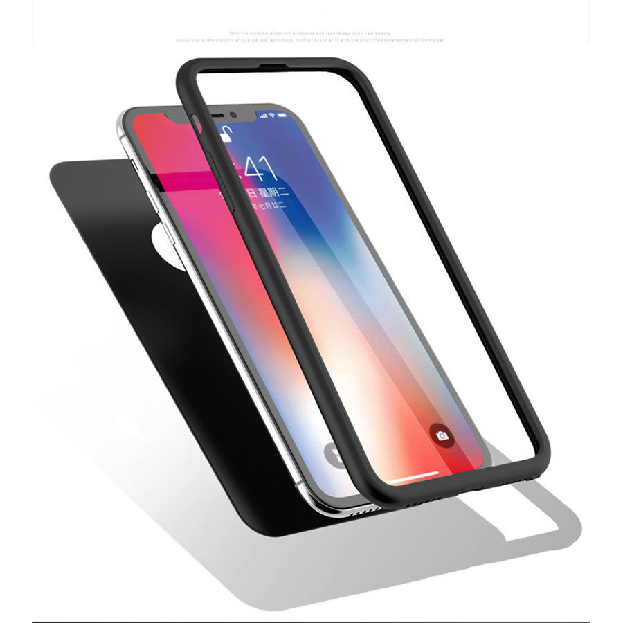 360 Full TPU Soft Matte Case For iPhone XS MAX XR 5 5s SE 6s 6 7 8 Plus X Silicone Cover Huawei P20 Nova 3 Mate 20 Lite Honor 10 iPhone XS