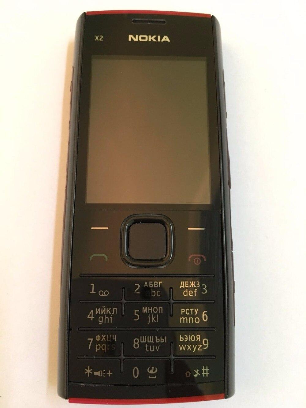 X2 Teléfono Nokia X2-00 original Bluetooth FM Java 5MP desbloqueado - Teléfonos móviles - foto 2