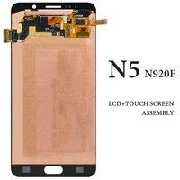 3pcs Super AMOLED Display For Samsung Galaxy Note 5 LCD Screen N9200 N920I N920T N920F 5