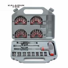 KALAIDUN 40pcs Household Multifunction Screwdriver Set T-Screwdriver Set Ratchet Handle Tools Set