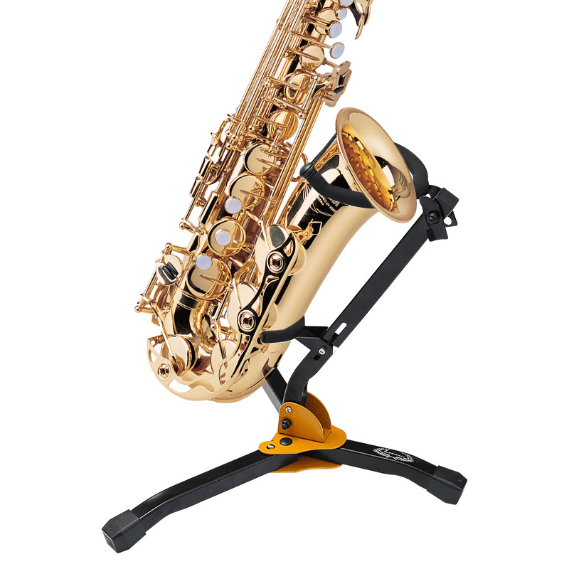 Sax Holder Portable Foldable Metal Leg Tripod Stand Detachable Holder Bracket For Alto Saxophone Accessories High Quality Stand