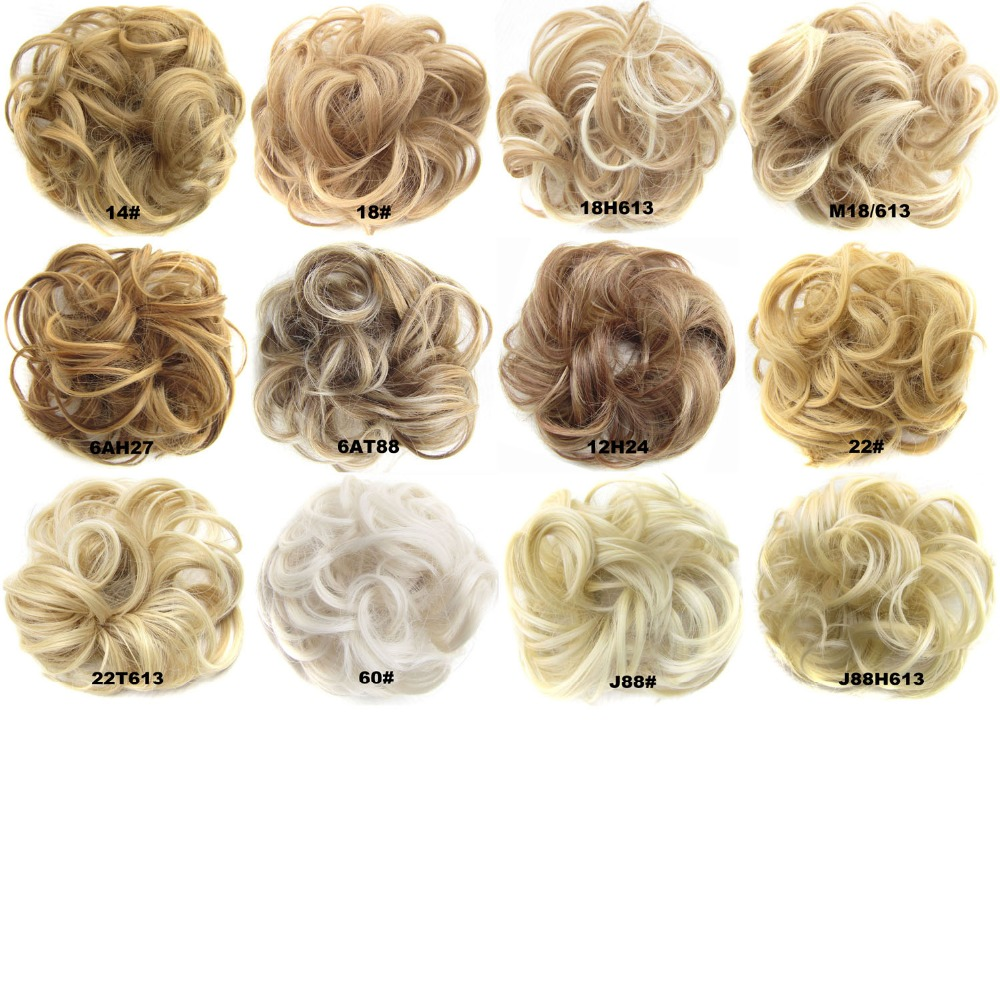 """Accessories Hot Put On Hair Piece Scrunchie 4/"""" Extensions Wrap Band Elastic"""