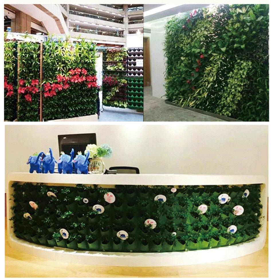 Bolsa de Parede para Jardim Vertical em Feltro - GreenWall