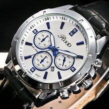 2016 De Luxe Hommes de Montre De Mode Quartz-montre Étanche Homme Montres 2016 Marque De Luxe Relojes Hombre En Cuir Relogios masculinos