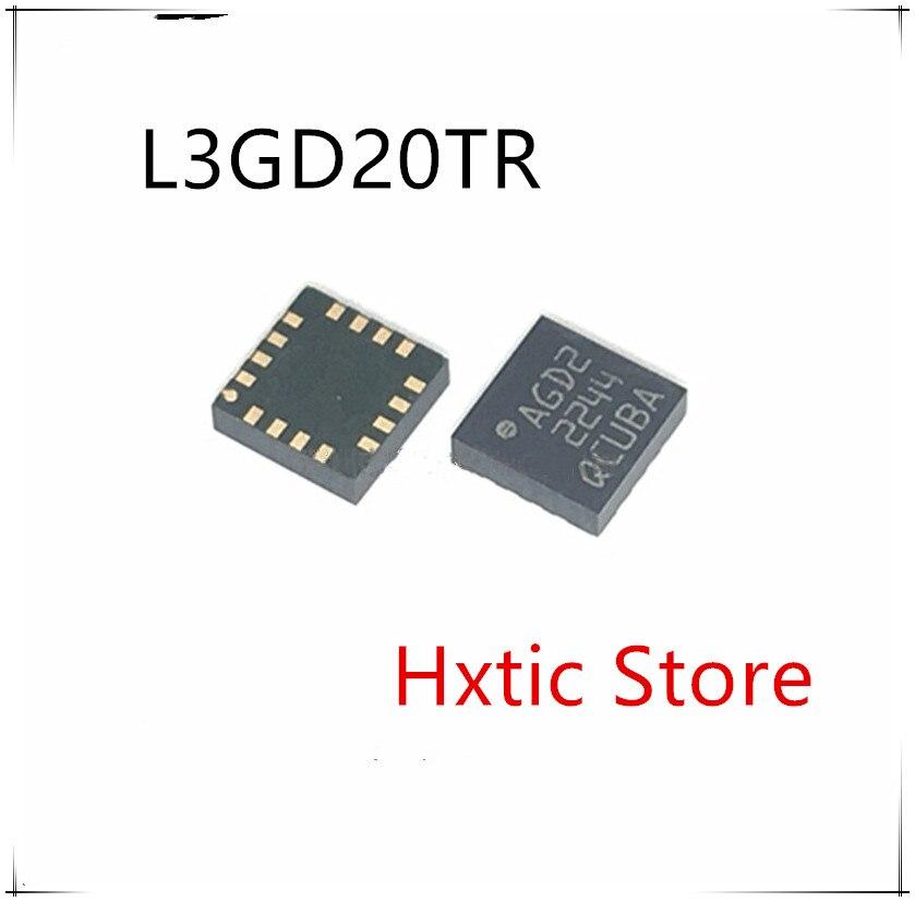 10pcs lot New L3GD20TR L3GD20 LGA 16 AGD2 Digital gyro sensor chip