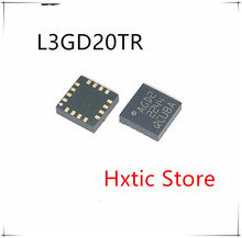 10pcs/lot New L3GD20TR L3GD20 LGA-16 AGD2 Digital gyro sensor chip