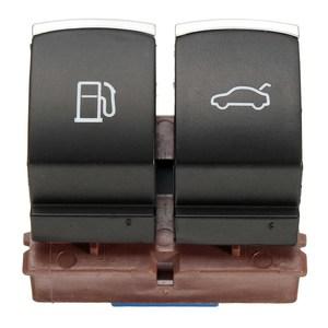 Chrome Fuel Tank Door Trunk Release Switch For VW Passat B6/3C 2006-2011 35D 959 903