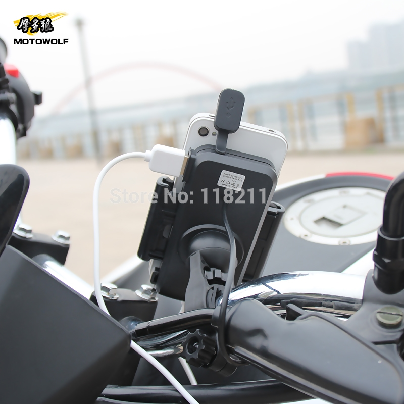 Universal Bicycle Phone Holder Motorcycle Handlebar Clip Stand Mount Bracket For iphone Samsung 3.5inch to 6 inch mobile phone m09 motorcycle bicycle water resistant holder stand for iphone 4 4s black