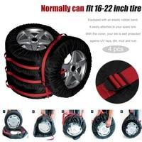 Новый 4 шт. запасная шина чехол нейлон Лето автомобильные шины сумка для хранения автомобильных шин колеса автомобиля протектор для дюймов