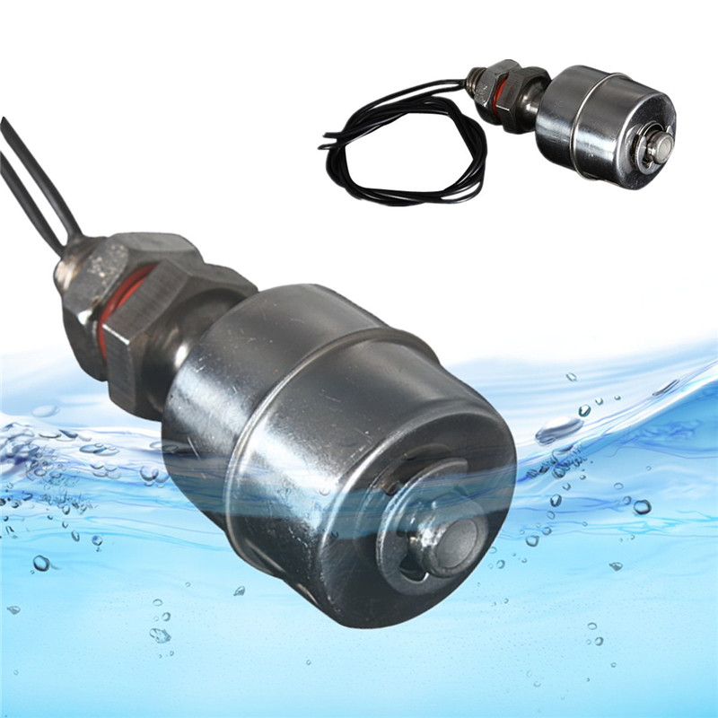 Stainless Steel Liquid Level Controller Horizontal Float Switch SPST цена и фото