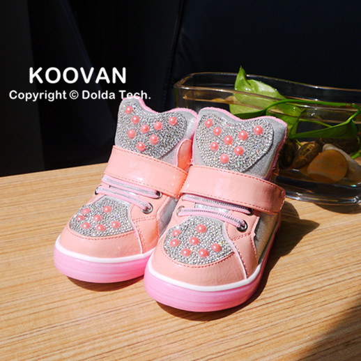 2015 New Todder Shoes First Walker Baby Boys Girls Shoes Pearl Children Sneakers Kids Shoes Children Infant Sneaker F223