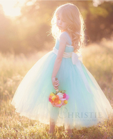 Meisjes kleding 7 jaar kids bruiloft formele prinses lange zomer feestjurk peuter meisjes roze bloem baljurk kinderen jurken