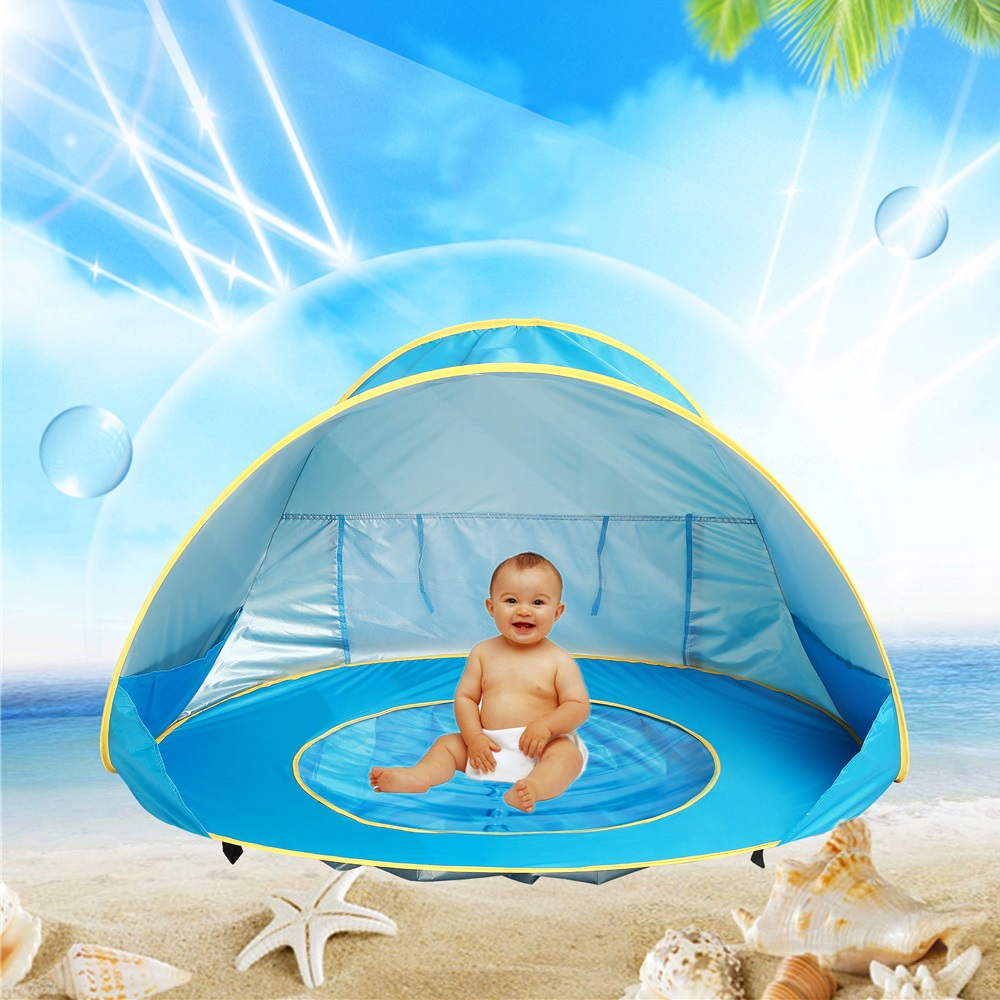 Portable Kid Folding Outdoor Mini Ocean Ball Pool Pit Game Toy Tent Pop-Up Game House For Baby Outdoor Indoor Playhouse Toy Tent outdoor puzzle folding mongolia bag game house tents