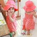 Nuevos niñas ropa bebé ropa del verano del bebé 0 - 2 años de edad princesa del verano el envío libre