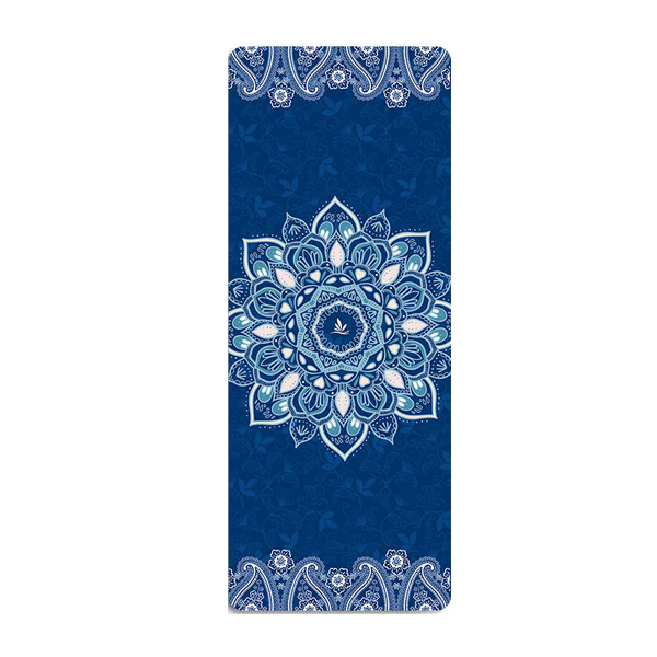 18368CM6MM Natural TPE Suede YOGA MAT Heathyoga PRO Yoga Mat With Body Alignment Lines Slip-resistant Comfortable Fitness Mats