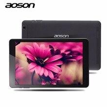 Elegante 10.1 pulgadas Andriod 6.0 Ultra-delgado Aoson R101 Tablets PC 16 GB ROM 2 GB RAM MTK 8163 Quad Core 800*1280 IPS 5000 mAh GPS