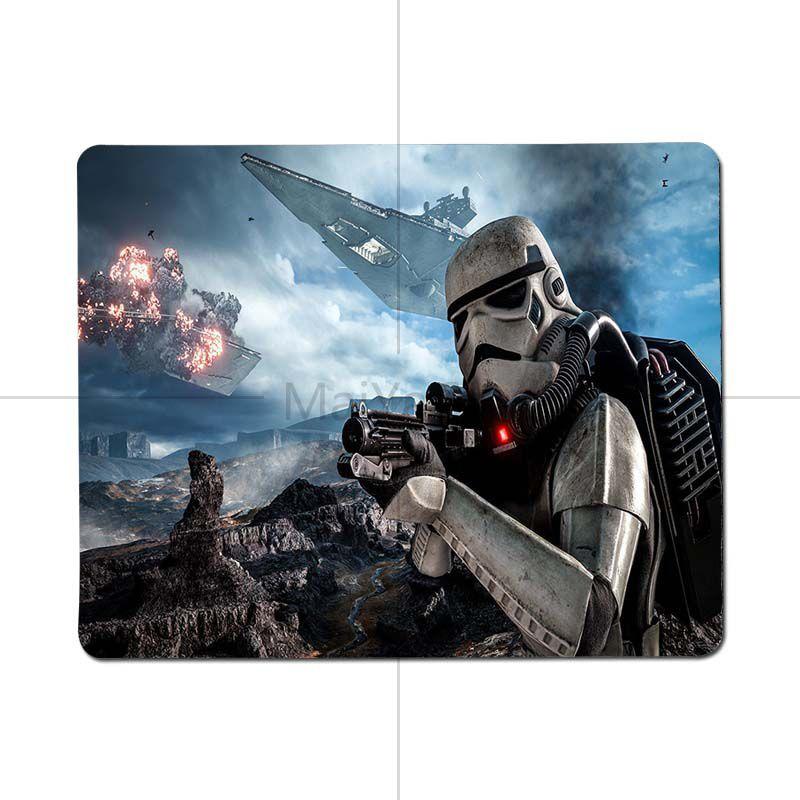 MaiYaCa Star Wars Battlefront высокое Скорость новый коврик Размеры для 25X29 см 18x22 см игровые коврики