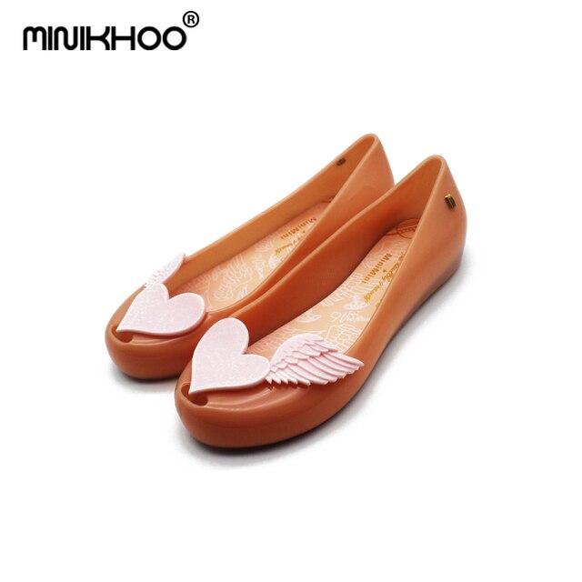 4fb2ab91706a9 Mini Melissa 6 Color Women Sandals 2018 Melissa Ladies Jelly Shoes  Waterproof Sandals Parent-child Sandals Beach Sandals