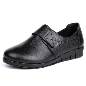 Image 4 - GKTINOO ผู้หญิงแบนรองเท้ารองเท้าลูกไม้ขึ้นรอบ Toe หนังแท้หนังสั้น Plush ฤดูหนาวรองเท้าสบายๆผู้หญิงรองเท้า Loafers Plus ขนาด 43