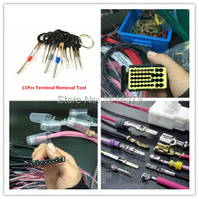 11 шт. DIYCar разъем для извлечения терминала инструмент для ремонта проводки обжимной разъем обжимной контакт Съемник