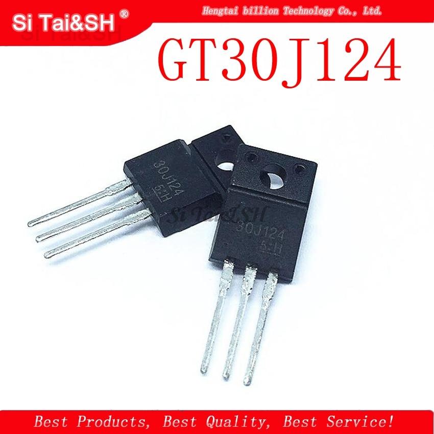 10PCS 30J124 GT30J124 TO-220 New Original
