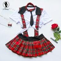 ALINRY сексуальное женское белье комплект для женщин Эротические плюс размеры кружево до студент косплэй костюм Ролевые игры для школьниц