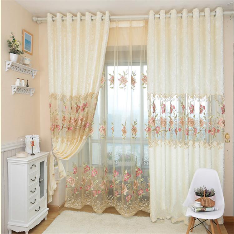 envo libre cortinas de terciopelo bordado de hielo de europa para moderna sala de estar de