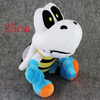 25cm Super Mario Bros Koopa Troopa Dry Bones Stuffed Animal Doll Toy Christmas Gift