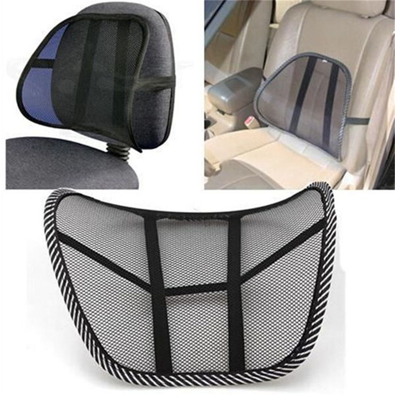 Car Van Lumbar Lumber Back Support Cushion Ergonomic Office Chair For Bmw
