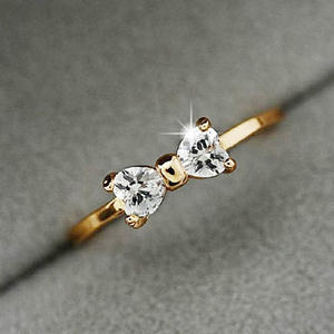 EVIL LAMOUR Finger Wedding Engagement Rings For Women