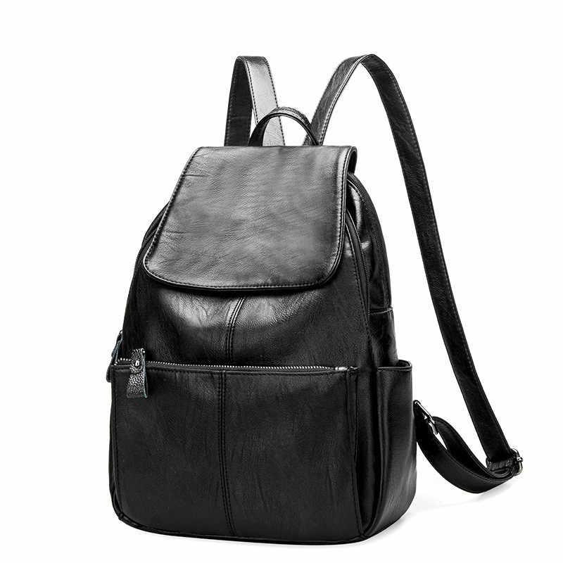 eb4aec2efaad Дизайнер Для женщин рюкзаки из натуральной кожи женский рюкзак Для женщин школьная  сумка для девочек большой
