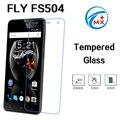 Fly FS504 0.26 мм Передняя Взрывозащищенный Закаленное Стекло Пленка для Fly FS504 Cirrus 2 Case ЖК-Экран Протектор pelicula де vidro