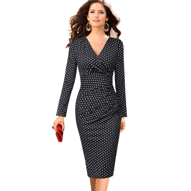 Vfemage Womens Elegant V Neck Ruched Floral Print Work Casual Cocktail Party  Slim Fitted Bodycon Pencil e48c846a7884