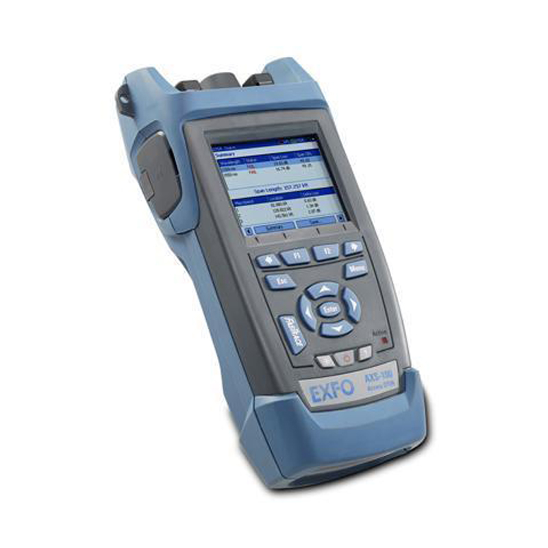Handheld EXFO OTDR AXS-110-23B-04B 1310/1550nm, 37/35dB,Integrated VFL, Touch Screen Optical Time Domain Reflectometer BY DHL