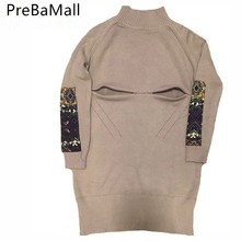 Buy Nursing Maternity Sweater Breastfeeding Head Long Half High Collar tops for Pregnant Women Loose Thick Pregnancy sweater C0106 directly from merchant!