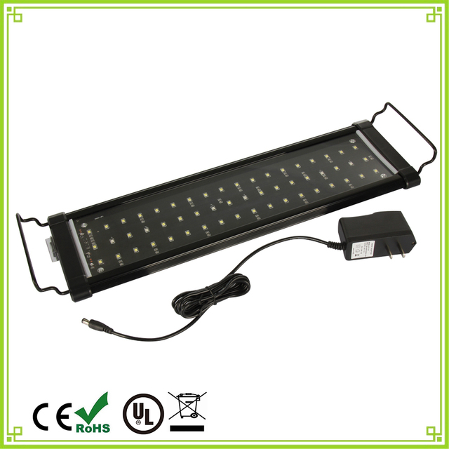 1pcs 30cm 40cm 60cm 90cm LED Aquarium Light Fish Tank Coral Lamp Underwater light for For Fish Plant Lighting