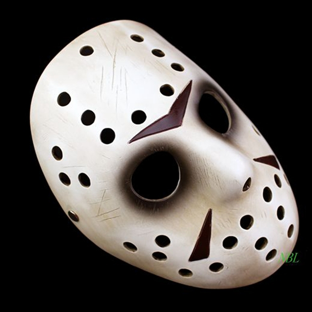 Jason and Freddy Vs Jason Mask Halloween Memorial Classics Film Jason Voorhees Freddy Hockey Resin Masks Cosplay Masquerade 1